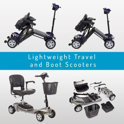 Lightweight Travel and Boot Scooters