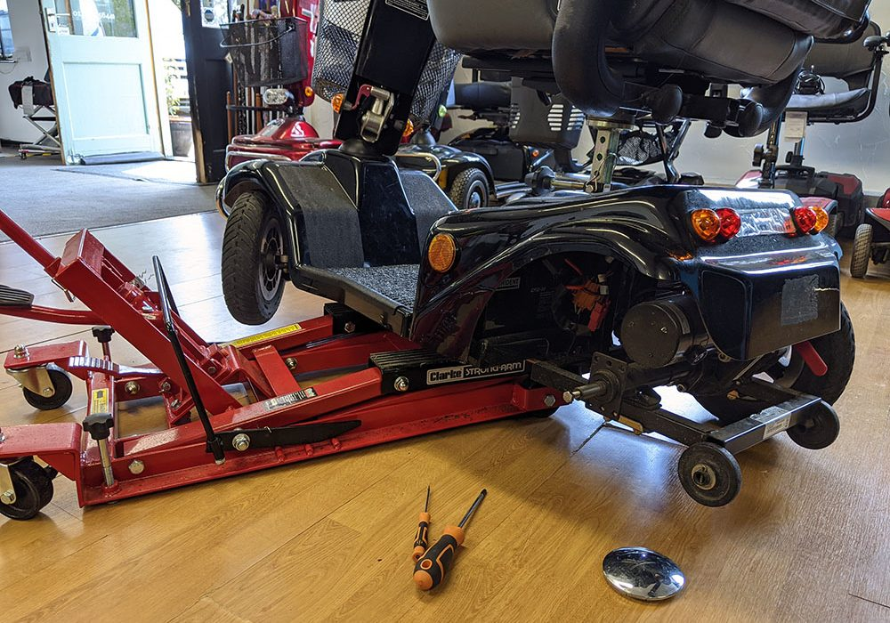Mobility Scooter Servicing